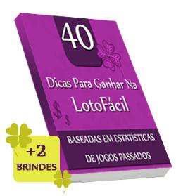 E-Book Dicas Lotofácil