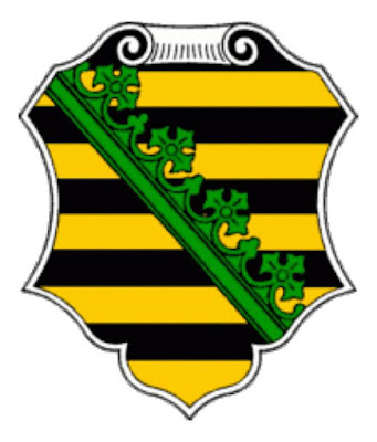 The Wettin family's coat of arms