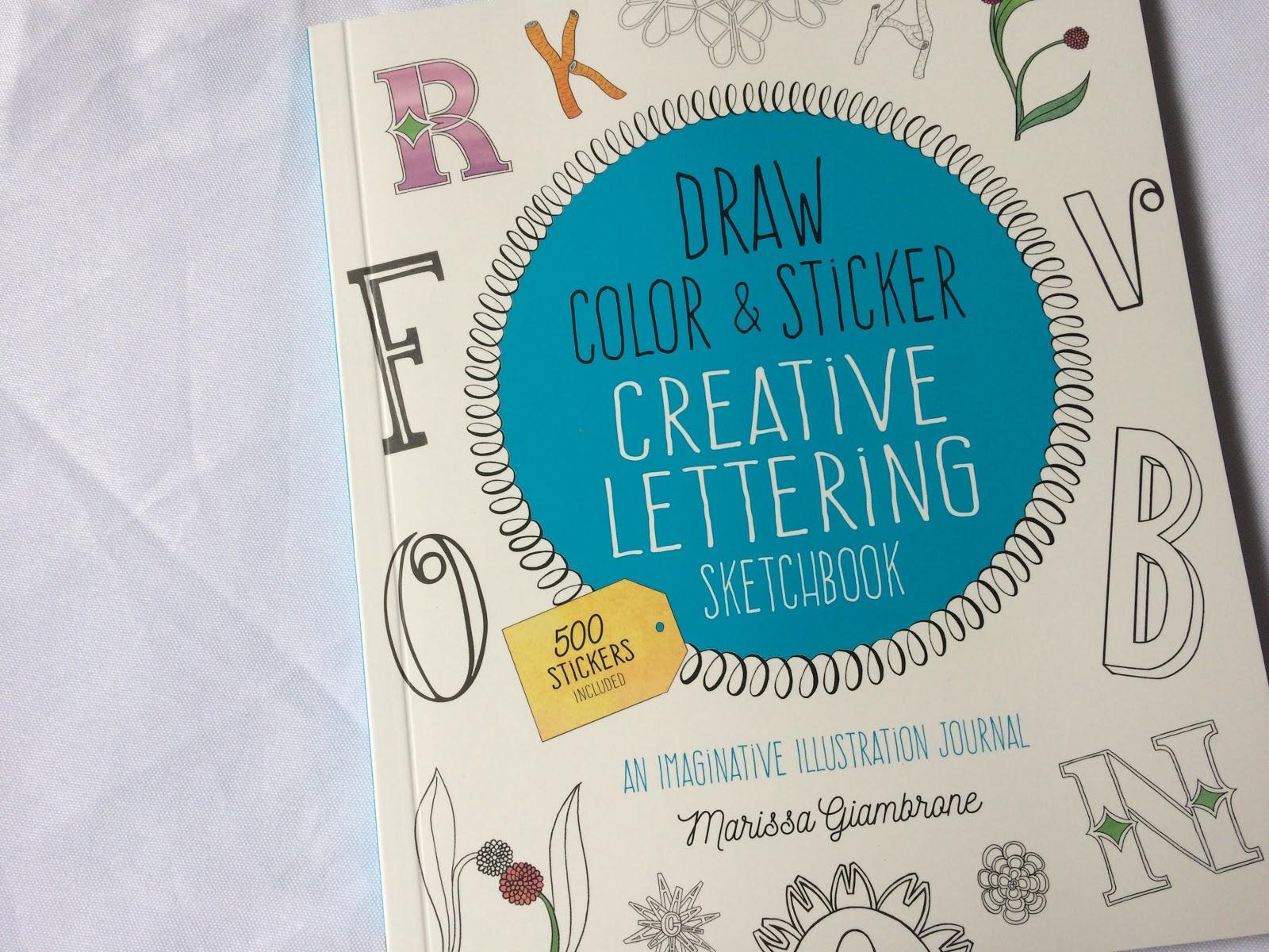 Simply Nerdy Mom Creative Lettering Sketchbook