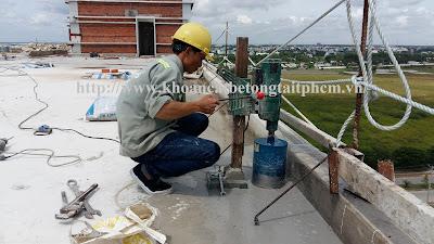 Khoan cắt bê tông tại Bình Phước