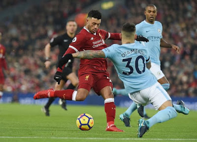 Alex Oxlade-Chamberlain scored the first goal for the Reds after converting from a solo run. Leroy Sane equalized minutes from first half break. Additional goals from Roberto Firmino, Saido Mane and Mohammed Salah gave Liverpool a 4-1 lead at 68th minute. Ever resilient Manchester City almost got back into the game after two goals from Bernardo Silva and Ilkay Guendogan put the game at 4-3