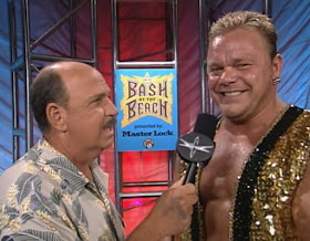 WCW Bash at the Beach - Mean Gene interviews Franchise Shane Douglas
