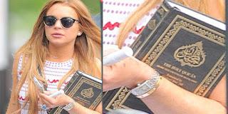 LINDSAY LOHAN INGIN PELUK ISLAM SELEPAS KHATAM AL QURAN