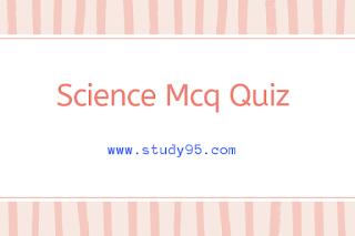 Science gk mcq