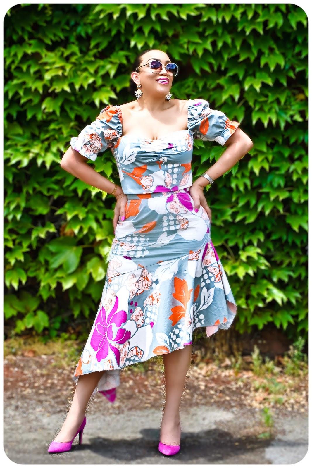 McCall's 7929 Top & McCall's 7725 Skirt - Erica Bunker DIY Style!