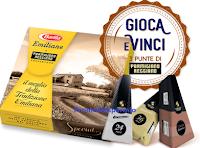 Logo Con Barilla ''Scegli il meglio vinci il meglio'': premi sicuri subito e vinci 1.500 kit di Parmigiano Reggiano
