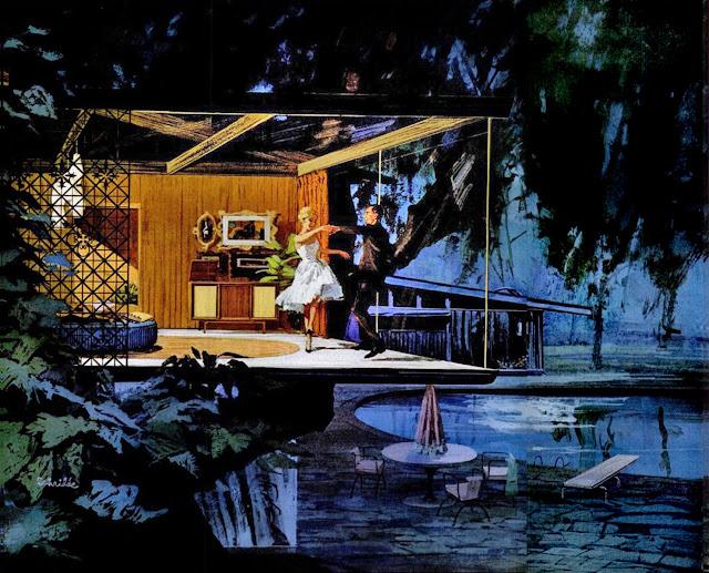 Charles Schridde -1961 Tree dance - Motorola ad