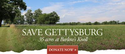 Save Barlow's Knoll at Gettysburg!