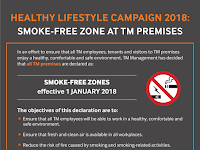 Smoke-Free Zone At TM Premises
