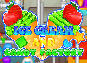 Ice Cream and Candy Factory