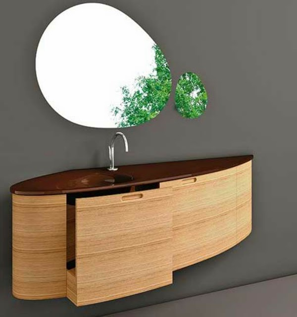 10 trendy bathroom vanity cabinets designs ideas. Black Bedroom Furniture Sets. Home Design Ideas