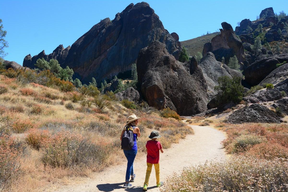 Pinnacles, le Balconies Cave Trail