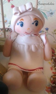 Tarta - Carla y sus muñecas (Siempredulces)