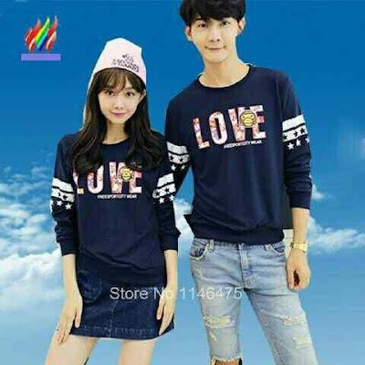 Jual Baju/Kaos Couple Couple Love - 12313