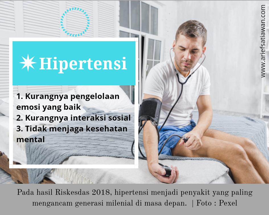 bahaya hipertensi pada milenial