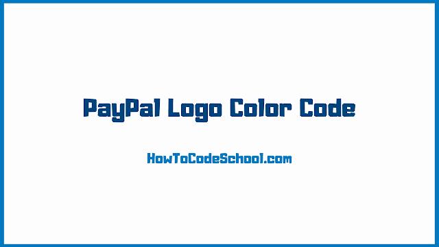 PayPal Logo Color Code