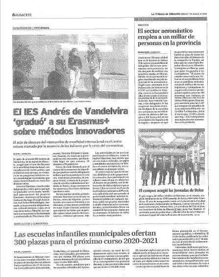 Meeting in Albacete - La Tribuna