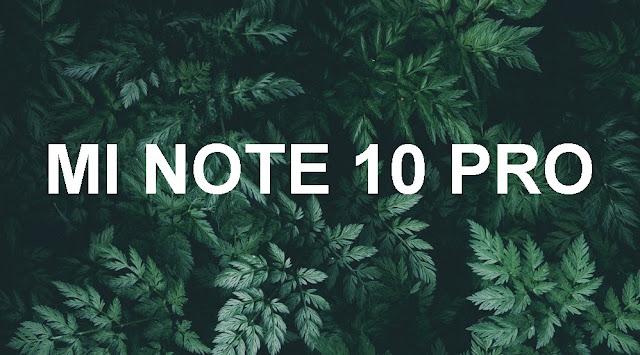 xiaomiintro mi note 10 pro