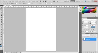 mengatur ukuran kertas A1 di photoshop