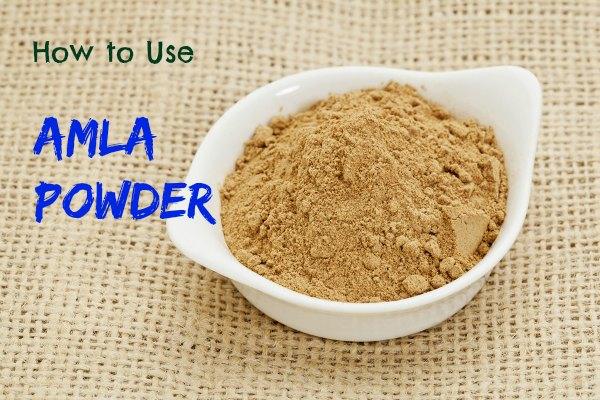 amla powder  use