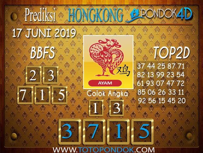 Prediksi Togel HONGKONG PONDOK4D 18 JUNI 2019