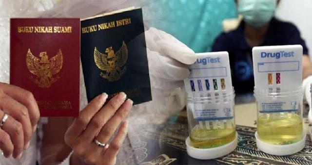 Buat Para Jomblo, Selain Kursus Juga Ada Wacana Tes Narkoba Sebelum Menikah