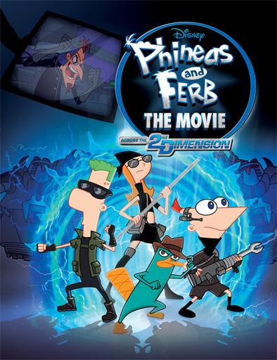 ver Phineas y Ferb: A través de la segunda dimensión (2011) Online