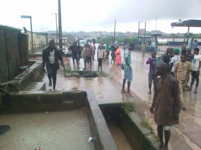 Tragedy as flood sweeps two, destroys property in Lagos