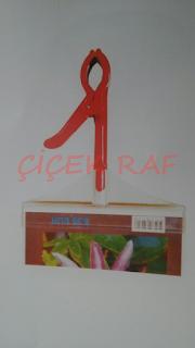 Çiçek Raf-Plastik çerçeveli fiyat etiketliği