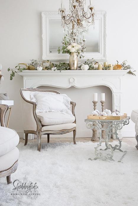 Elegant And Simple Fireplace Mantel Decorating Ideas Shabbyfufu