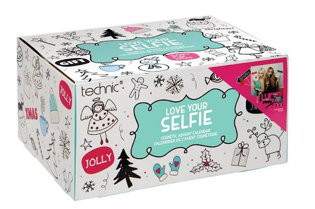 Technic love your selfie advent calendar makeup make-up beauty 2017