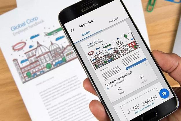Adobe Scan - Ένα δωρεάν φορητό Scanner στο κινητό σου