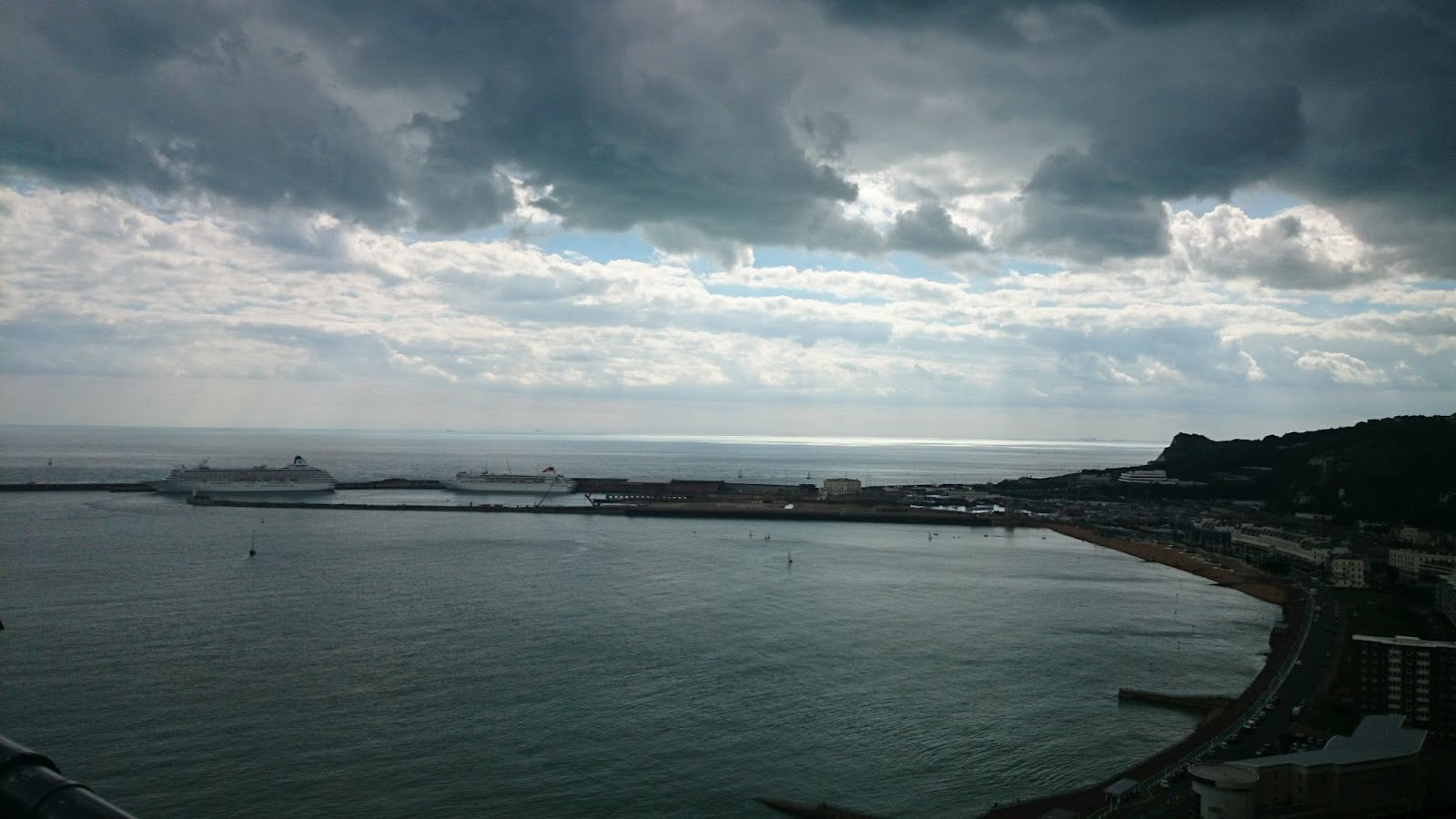 view of dover port