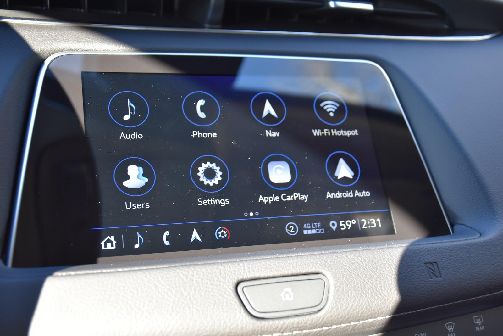 2020 Cadillac XT4 Navigation System