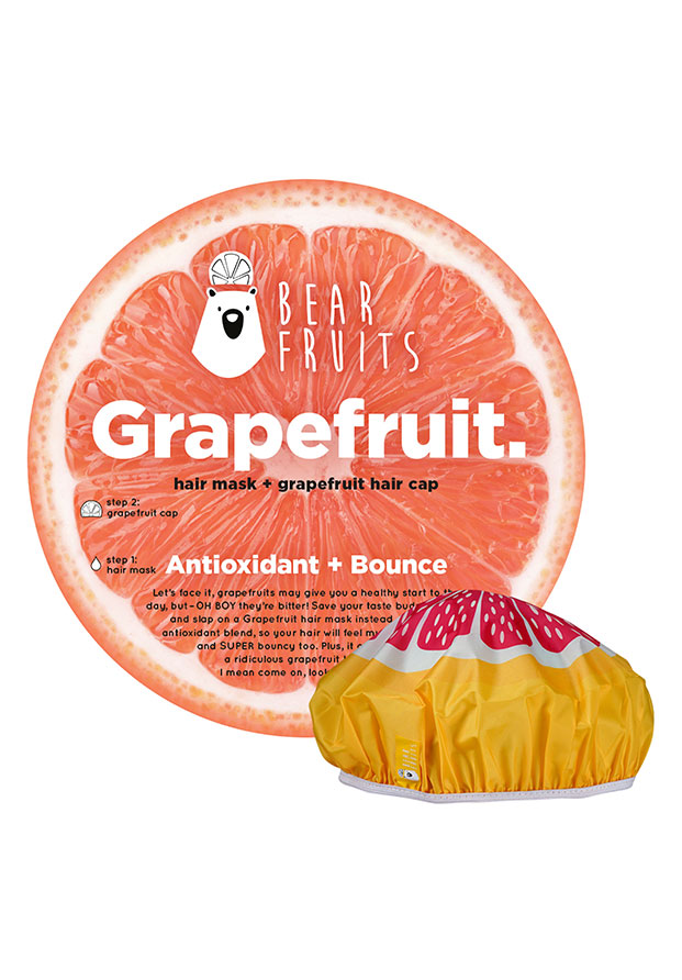 Grapefruit Hair Mask + Cap de Bear Fruits