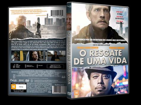 Capa DVD O Resgate de Uma Vida