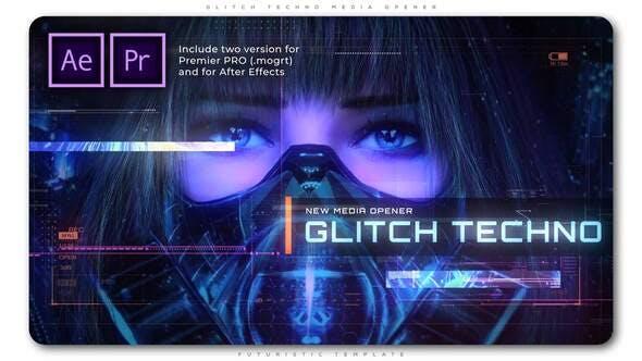 Glitch Techno Media Opener[Videohive][Premiere Pro][AE][28907727]