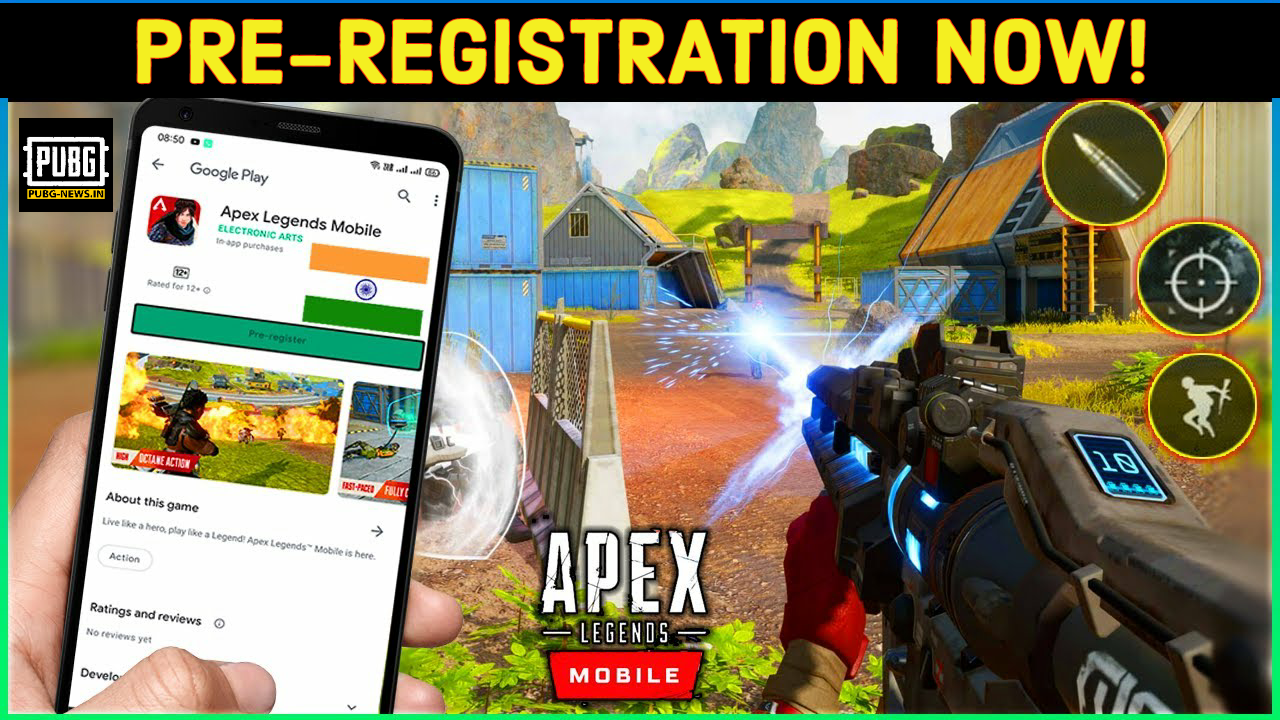 Apex Legends Mobile Pre Register