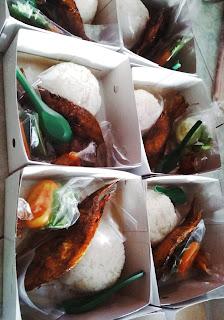 Nasi box ikan