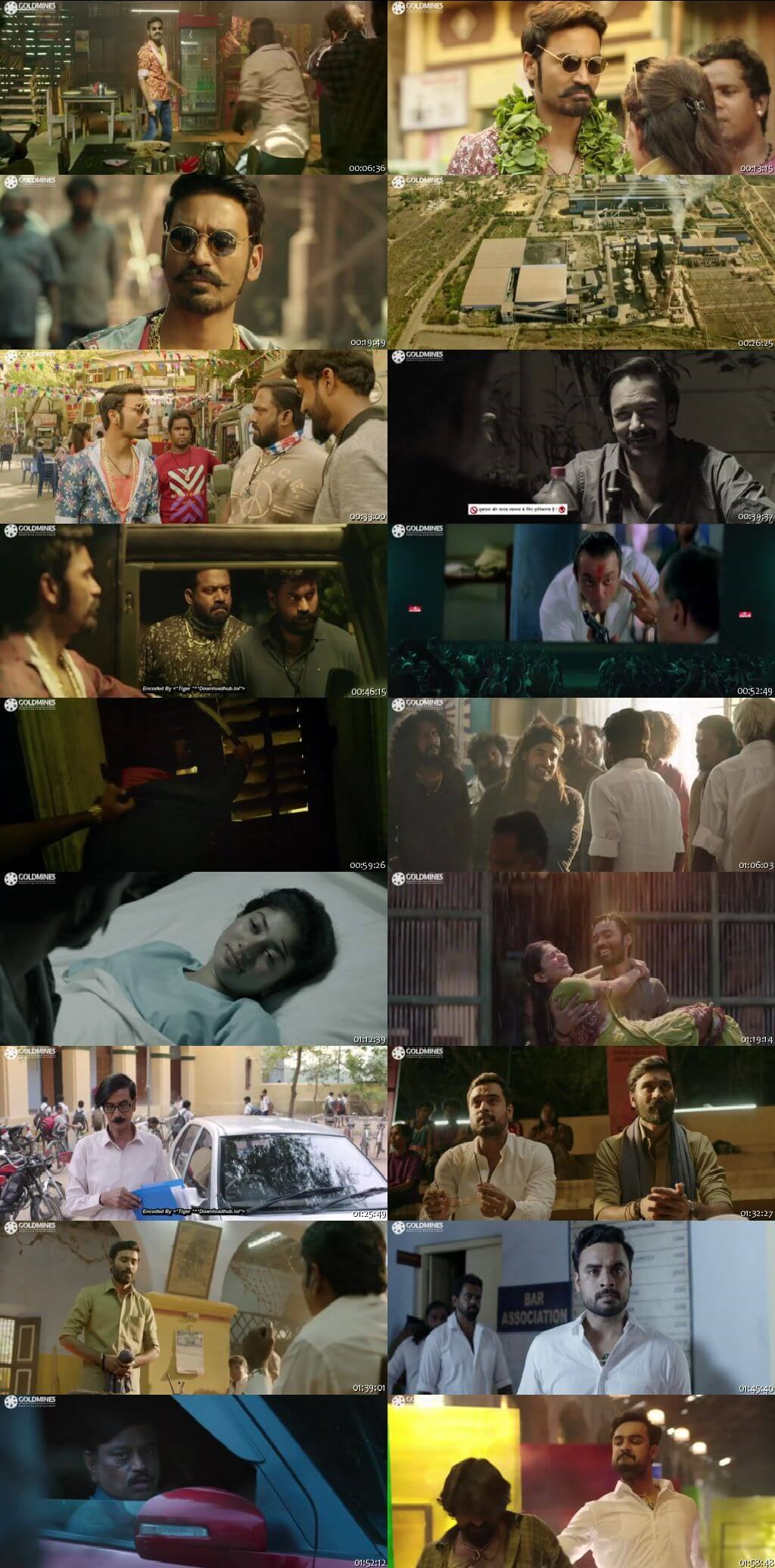 Screen Shot Of Tollywood Movie Maari 2 2018 Full Movie In Hindi Dubbed Free download 720P HD