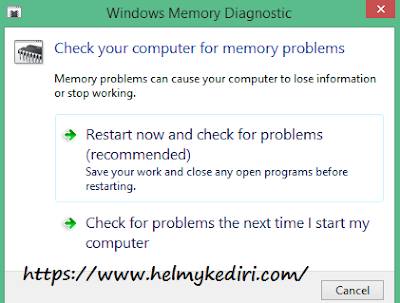 windows memory diagnostic tools