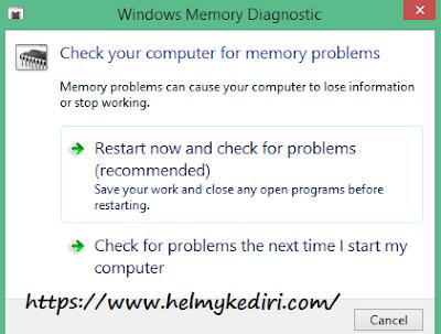 windows memory diagnostic tools