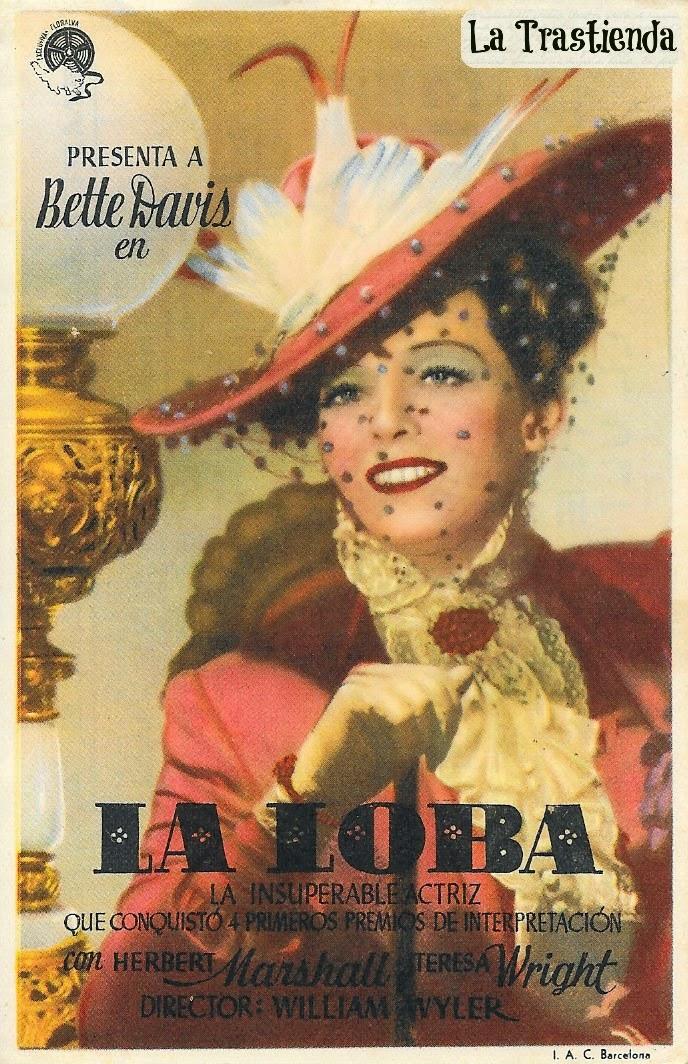 Programa de Cine - La Loba - Bette Davis - Herbert Marshall