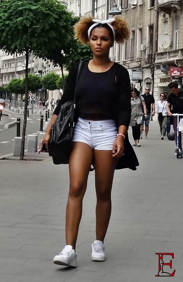 Romanian Girl In Black The Emporialist Romanian Street Fashion Magazine