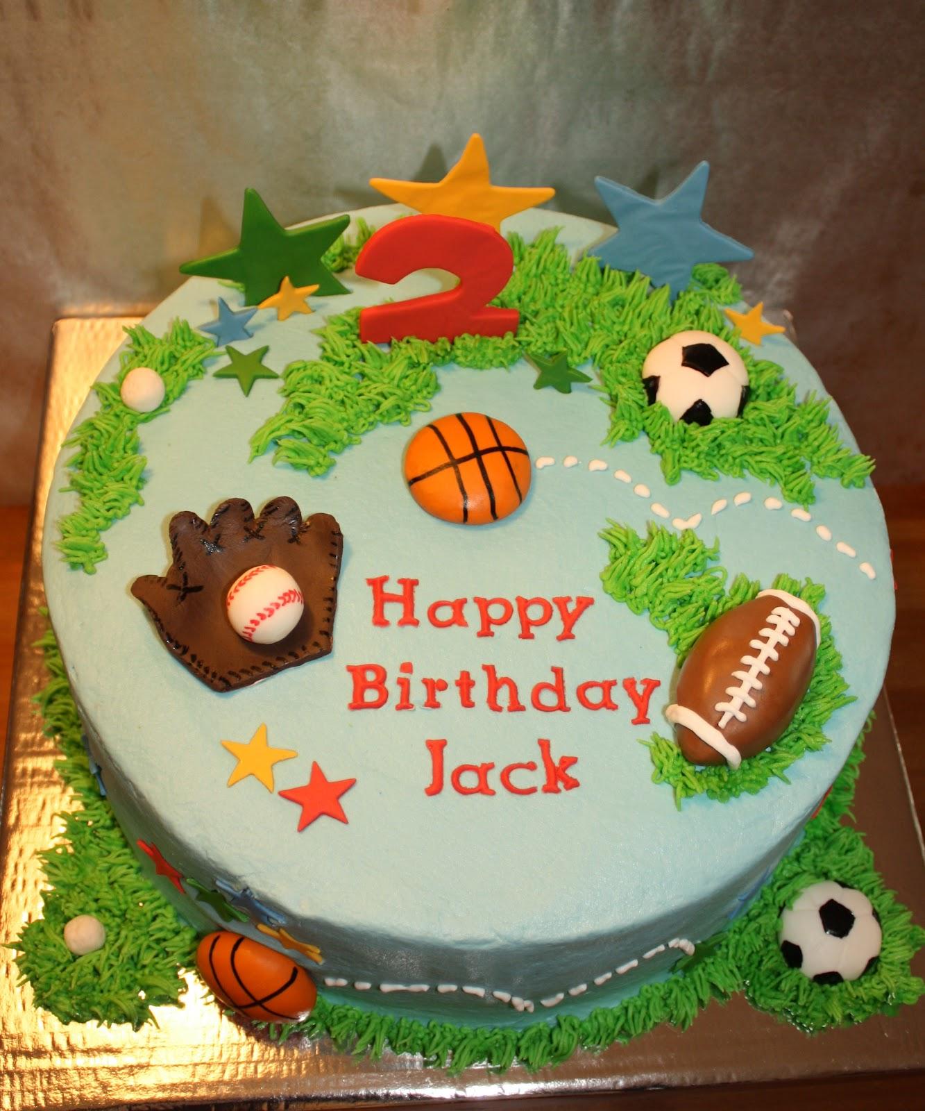 Kake All Star Sports Cake