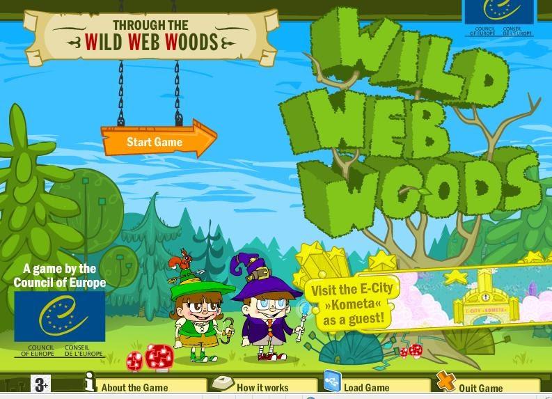"""""""Дикий интернет лес"""" можно играть онлайн:"""