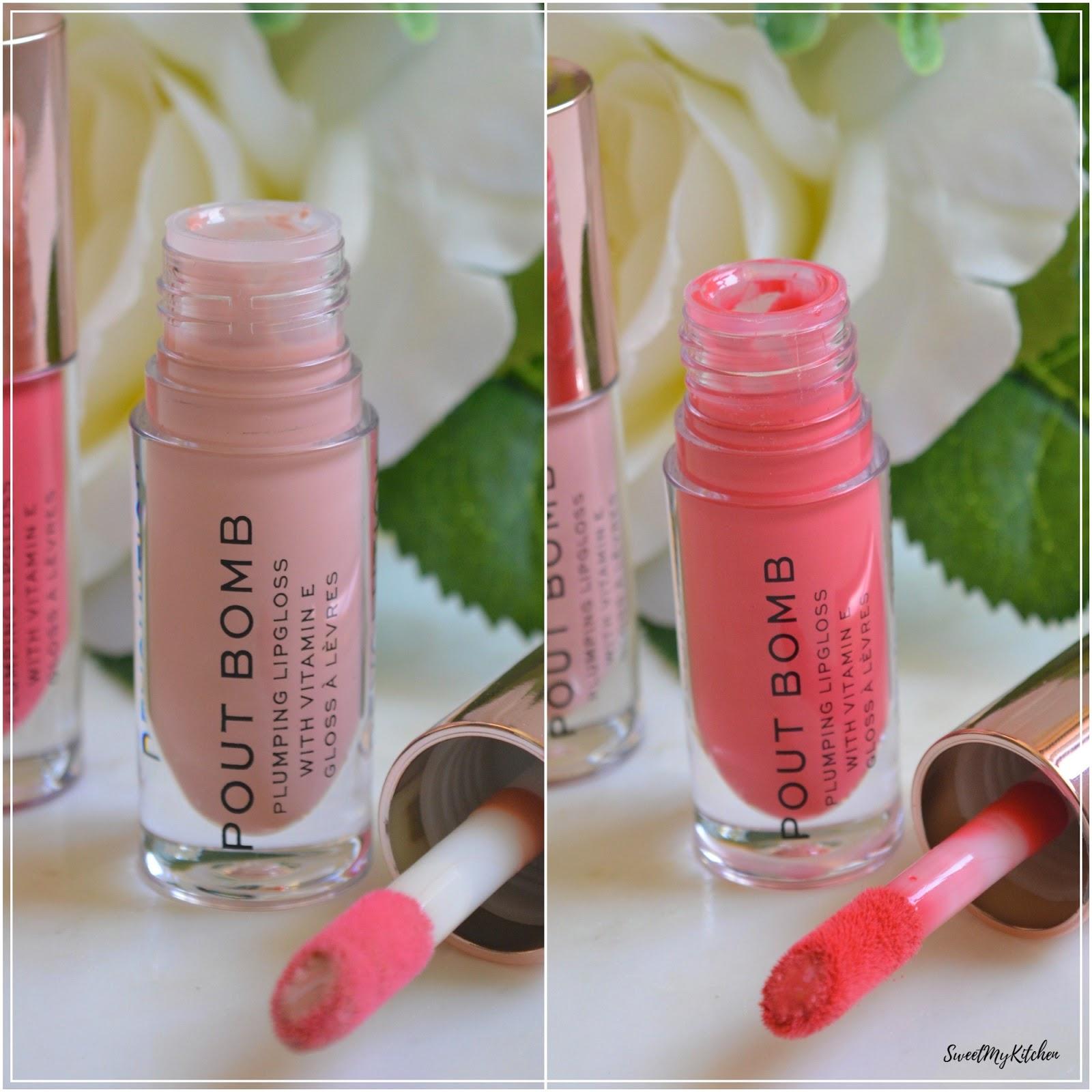 Makeup Revolution Pout Bomb Candy Peachy