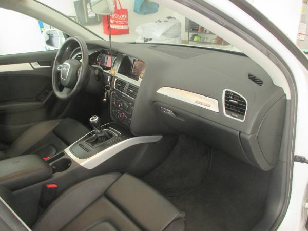 2010 Audi A4 Sport Package Interior