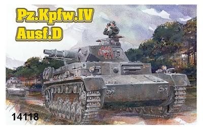 1/144 Pz.IV Ausf.D (14118)