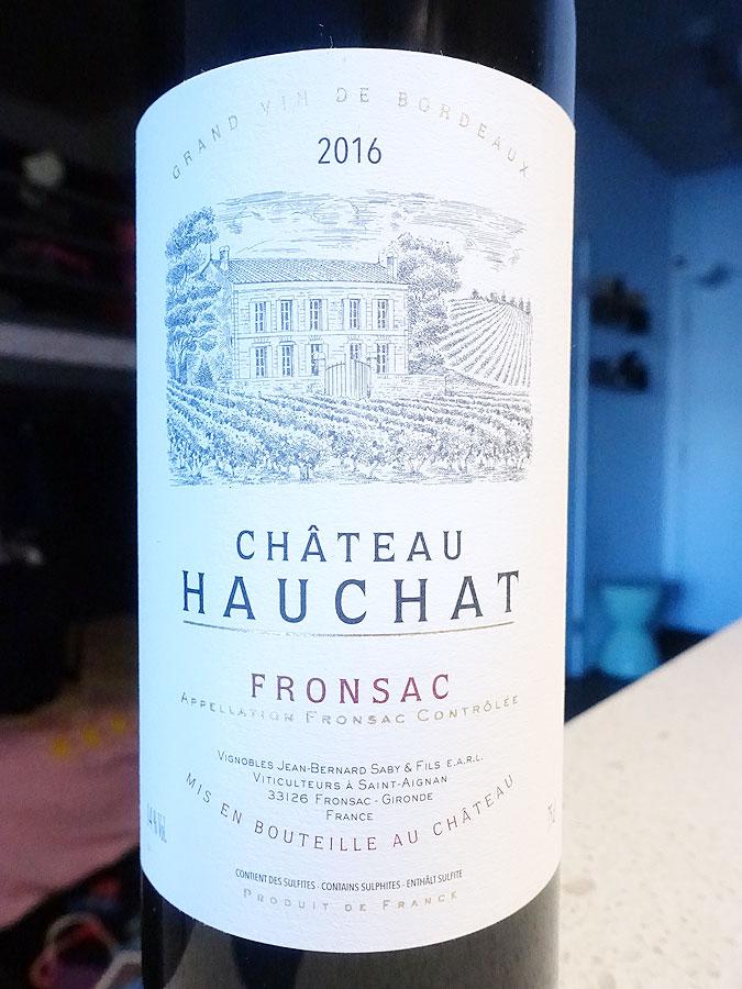 Château Hauchat 2016 (88 pts)